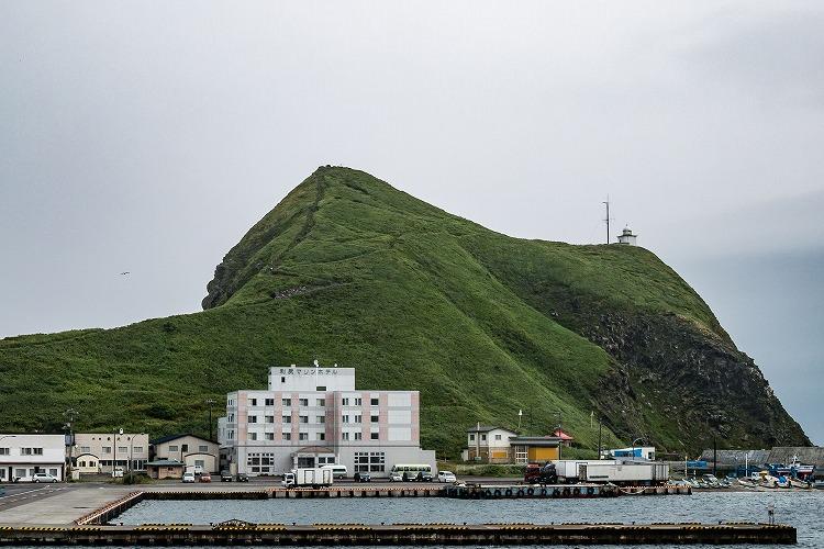 北海道の利尻島で昆布干しのアルバイト